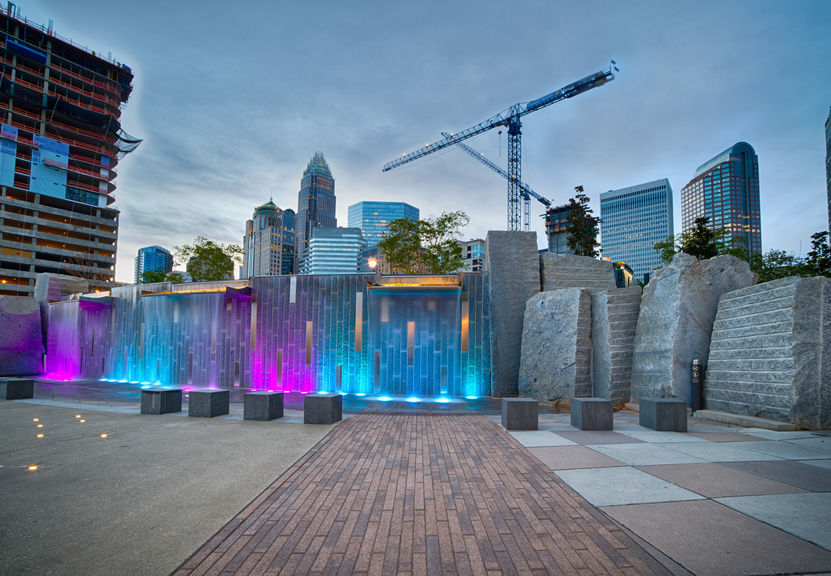 construction of new buildings in charlotte north carolina